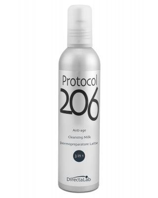 Protocol 206 Latte 3 in 1 - Anti-età Dermopreparatore