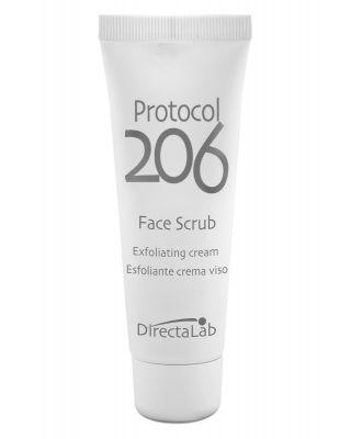 Protocol 206 Esfoliante crema - Scrub viso