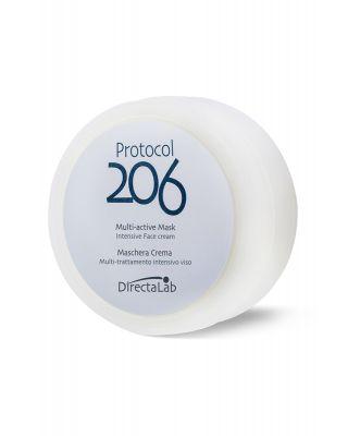 Protocol 206 Maschera crema - Multitrattamento intensivo viso