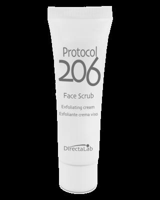 Protocol 206 Face Scrub - Esfoliante crema viso